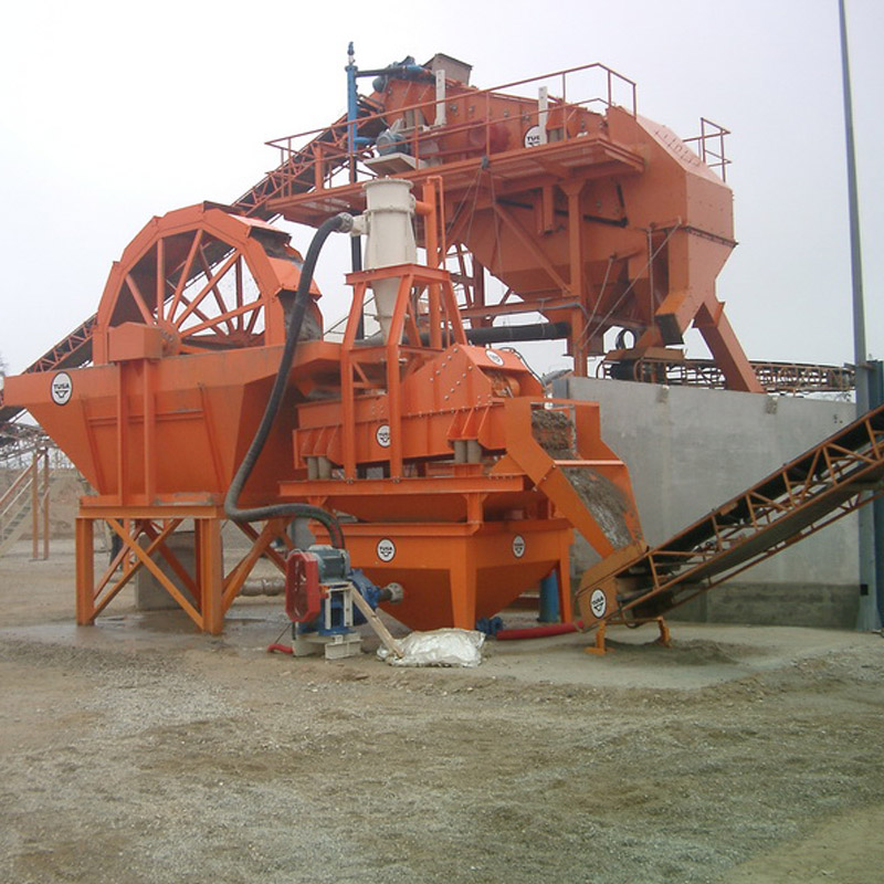 Compact Sand Washing System